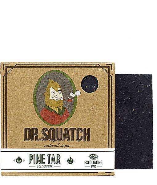 შავი საპონი წვერისთვის – Pine Tar Dr Squatch at Beard.ge