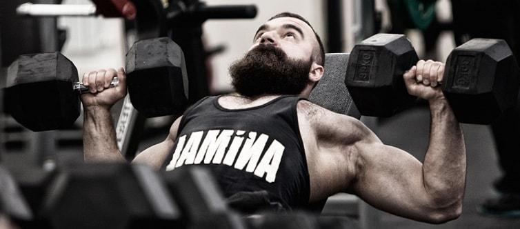 წვერის ზრდას ხელს უწობს ვარჯიში - Beard.ge