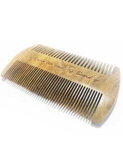 წვერის სავარცხელი დამზადებული სანდალის ხისაგან - Beard.ge