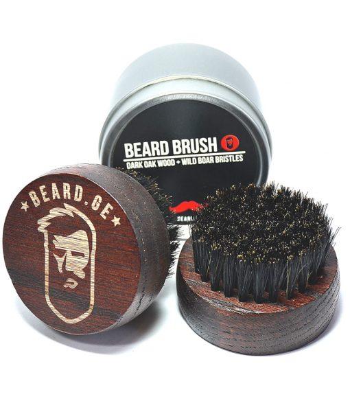 წვერის ჯაგრისი ტახის ჯაგრისგან იდეალურია წვერის ზეთის გადასანაწილებლად – Beard.ge