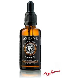 Azbane Cedarwood & Nutmeg - პრემიუმ კლასის წვერის ზეთი Beard.ge-ზე