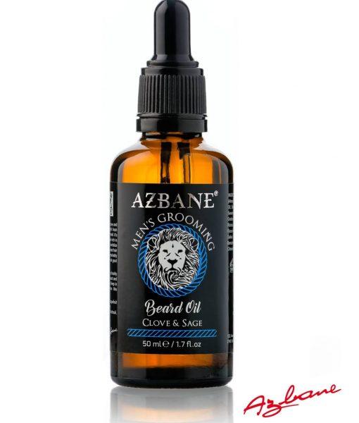 Azbane Clove & Sage – პრემიუმ კლასის წვერის ზეთი Beard.ge-ზე