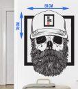 Bearded Sticker - Beard.ge