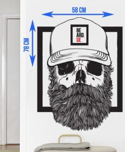 Bearded Sticker - Beard.ge