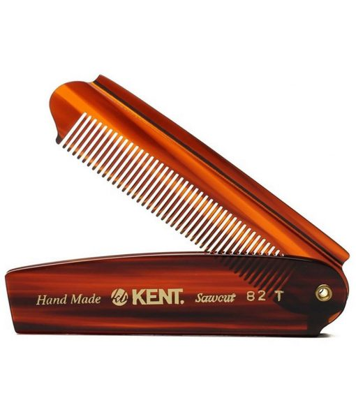 Kent-82-T beard and hair handmade sawcut comb – beard.ge