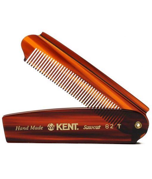 Kent-82-T წვერის და თმის ხელნაკეთი სავარცხელი