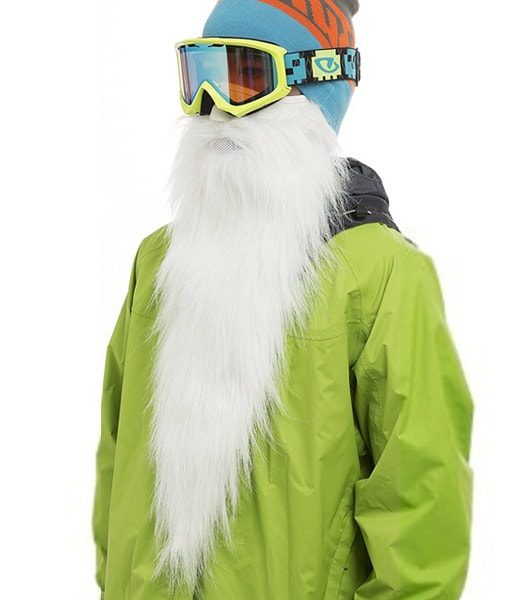 Long Beard Ski Mask - BeardSki Merlin - Beard.ge