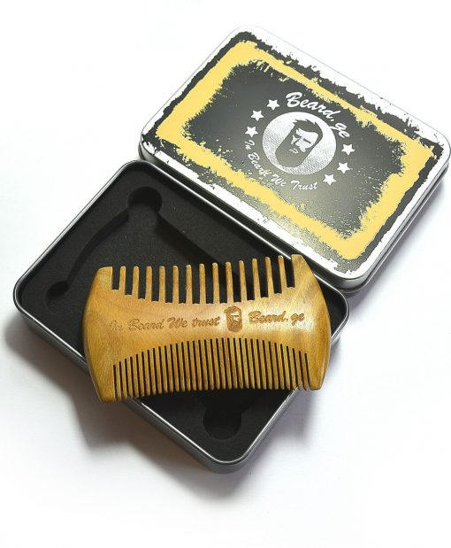 Great gift for a bearded man, sandalwood comb - beard.ge