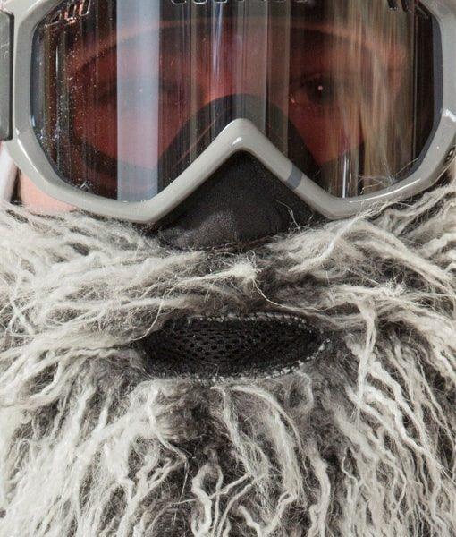 თბილი წვეროსანი ნიღაბი სნოუბორდისთვის - BeardSki Easy Rider - Beard.ge