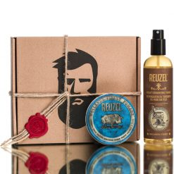 კომპლექტი 30 მამაკაცის საჩუქარი - თმის მოვლის საშუალებები - ცვილი და ტონიკი - Beard.ge