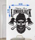 ლამბერჯეკი სტიკერი თქვენი ოთახის გასალამაზებლად - Beard.ge
