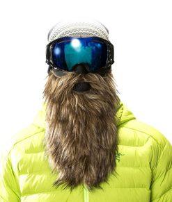 მოკლე წვეროსანი ნიღაბი თხილამურით სასრიალოდ - BeardSki Prospector - Beard.ge