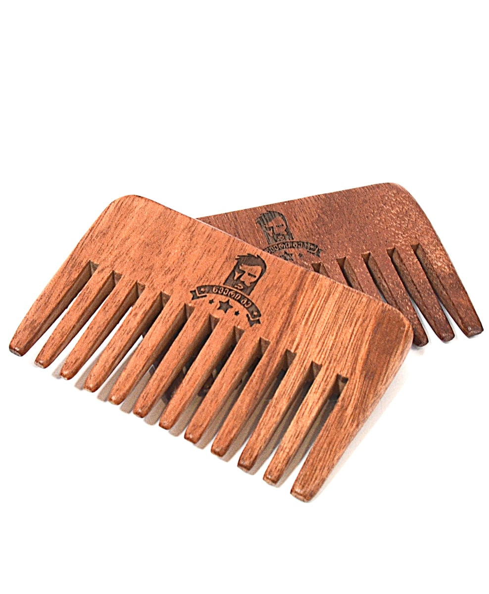 Dark Color Beard Comb - Beard.ge