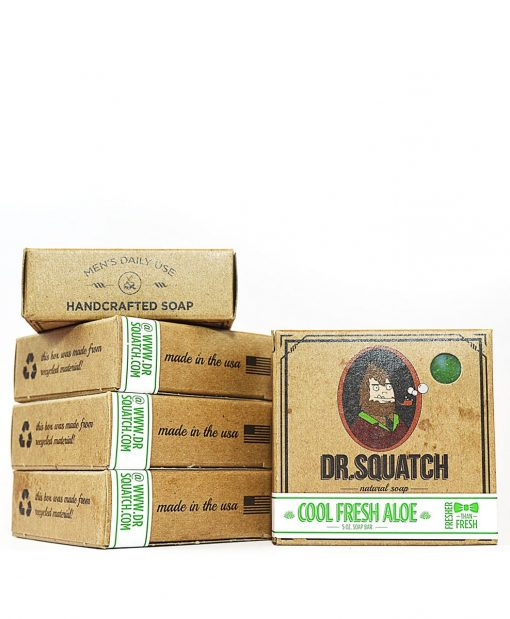 Natural soap for men - Dr Squatch Cool Fresh Aloe