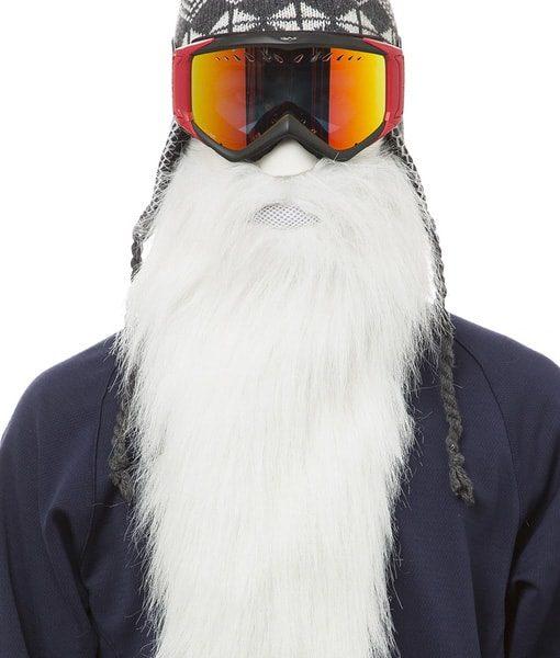 ნიღაბი სნოუბორდით სასრიალოთ გრძელი წვერი - BeardSki Merlin - Beard.ge