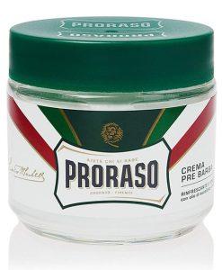 პარსვამდე გამოსაყენებელი კრემი იდეალური პარსვისთვის Proraso - Beard.ge