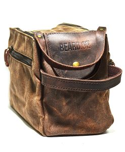სამგზავრო ჩანთა წყალგაუმტარი მატერიისგან მამაკაცებისთვის - Beard.ge