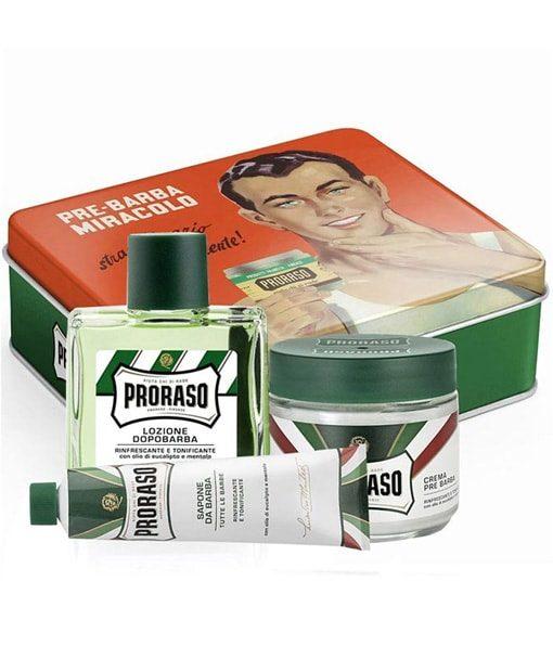 საპარსი საშუალებების სასაჩუქრე კომპლექტი Proraso - Beard.ge