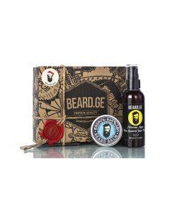 საჩუქარი მამაკაცისთვის წვერის ბალზამი და წვერის შამპუნი - Beard.ge