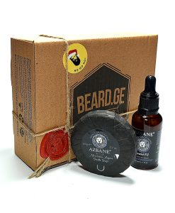 საჩუქარი წვეროსანისთვის - წვერის ზეთი და წვერის საპონი - Beard.ge