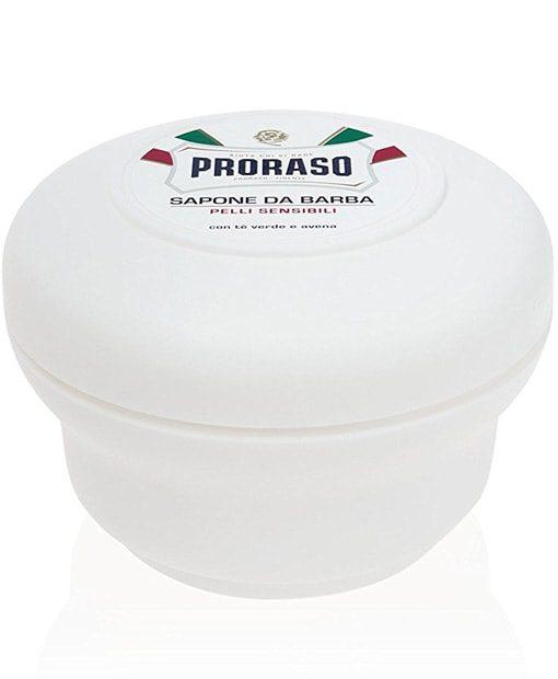 სენსიტიური კანისთვის საპარსი საპონი ჯამით Proraso - Beard.ge