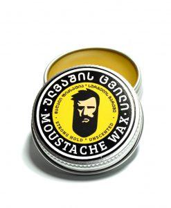 ულვაშის ცვილი ულვაშის ფორმის მისაცემად - Beard.ge