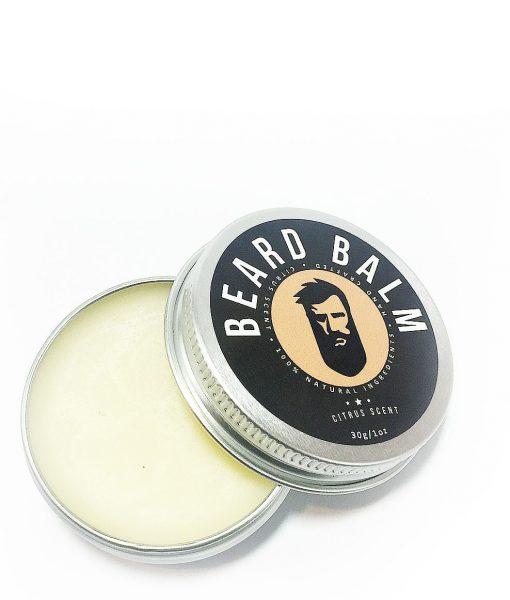 წვერის ბალზამი ფორმის სამართავად და წვერის დასარბილებლად - ციტრუსი - Beard ge