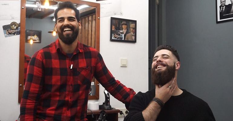 წვერის და თმის შეჭრა თბილისში - Beard.ge