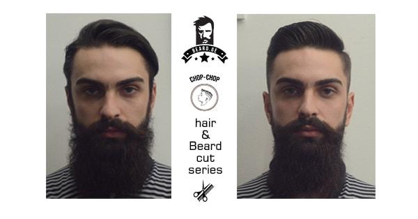 წვერის და თმის შეჭრა Before and After - Beard.ge