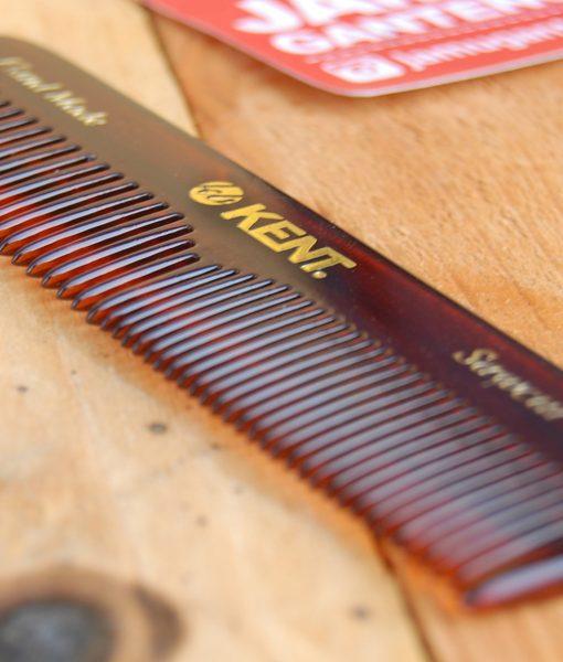 წვერის და თმის ხელით დამზადებული სავარცხელი Kent 2T - Beard ge