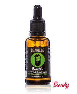 წვერის ზეთი Vetiver & Cardamom 30მლ - Beard.ge