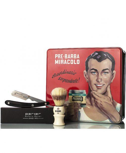წვერის პარსვის სასაჩუქრე ნაკრები Proraso shaving gift box - Beard.ge