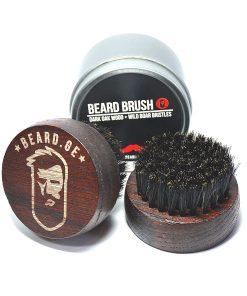 წვერის ჯაგრისი ტახის ჯაგრისგან იდეალურია წვერის ზეთის გადასანაწილებლად - Beard.ge