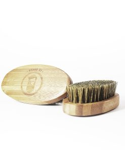 Beard brush for oil spreading and to keep your beard in style - Beard.ge