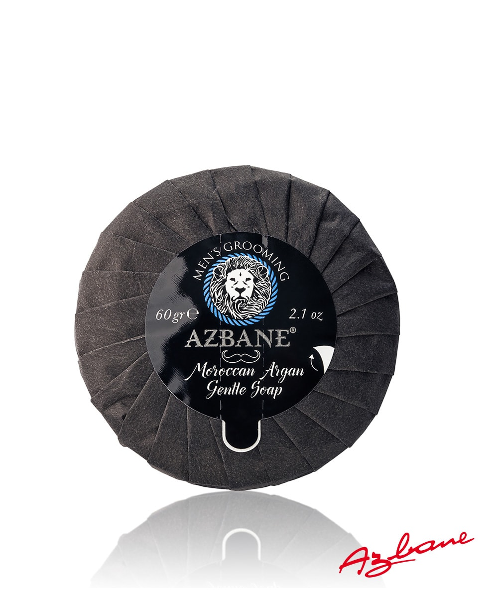 Argan Beard Soap by Azbane - Beard.ge