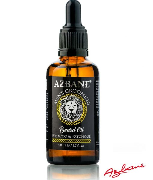 Azbane Beard Oil Tobbaco & Patchouli - პრემიუმ კლასის წვერის ზეთი Beard.ge-ზე