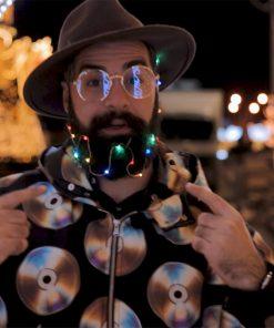 Beard Lights წვერის ციმციმა ნათურები Beard.ge