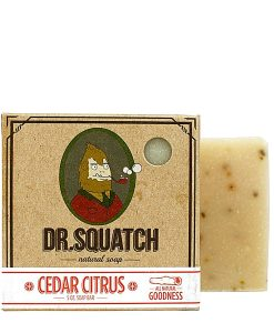 Cedar Citrus Dr Squatch კაცების საპონი - Beard.ge