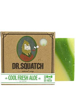 Cool Fresh Aloe Dr Squatch natural organic soap - Beard ge