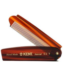 Kent-82-T beard and hair handmade sawcut comb