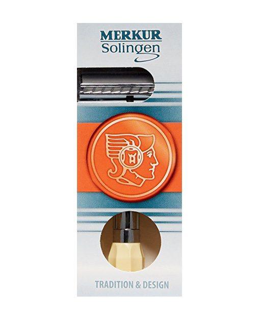 Merkur Progress Long Handle - შეფუთვა - წვერის შესწორება და პარსვა
