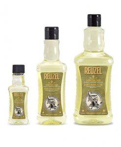 Reuzel თმის შამპუნი, წვერის შამპუნი, შხაპის გელი 3-1 ში. Beard.ge (2)