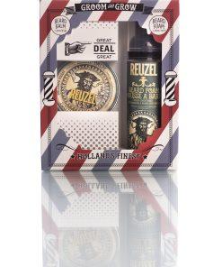 Reuzel Gift Box წვერის ქაფი და წვერის ბალზამი