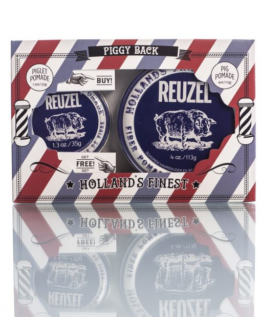 Reuzel Gift - Buy one 113gr Fiber pomade and get 35gr Fiber Pomade for free