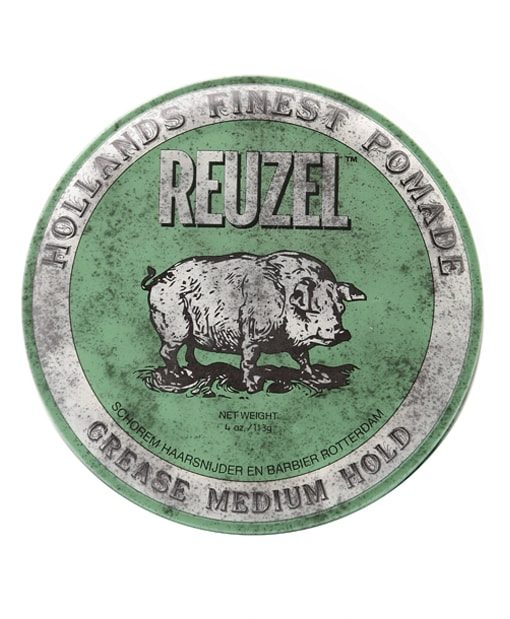 Reuzel Green Pomade at Beard.ge
